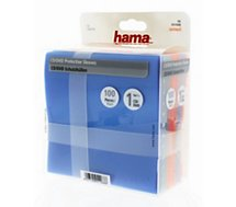 Boite à CD/DVD Hama  Protection Pack CD/DVD 100 différ colori