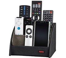 Socle de rangement Hama pour télécommandes noir
