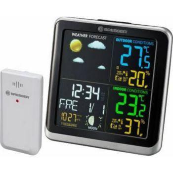 Bresser Station météo avec écran couleur, thermo