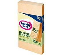 Sac poubelle Handy Bag  10 sacs 10L en papier compostables