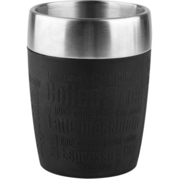 Emsa Travel Cup 0.2L noir