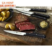 Set couteaux Zwilling 4 couteaux à steak lisse