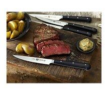Set de couteaux Zwilling  4 couteaux à steak lisse