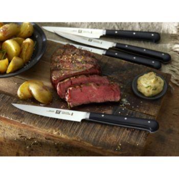 Zwilling 4 couteaux à steak lisse