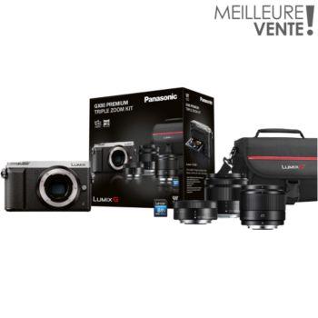 Panasonic GX80 silver+12-32+35-100+25mm+étui+SD16