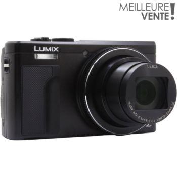 Panasonic DMC-TZ80 Noir + Sacoche + SD 8Go
