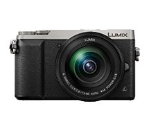 Appareil photo Hybride Panasonic  GX80 + 12-60mm + SD 16Go + Etui