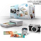 Appareil photo Hybride Panasonic GX880 Silver + 12-32mm + 35-100mm+Imp HP