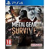 Jeu PS4 Konami  Metal Gear Survive