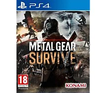Jeu PS4 Konami  Metal Gear Survive