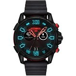 Montre connectée Diesel  Full Guard Noir/Rouge