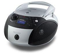 Radio CD Grundig  RCD1500 - Argent