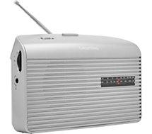 Radio analogique Grundig  Music 60 Argent