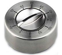 Minuteur GSD Minuteur mécanique inox 60mn