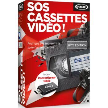 magix sos cassettes video 8 logiciel pc boulanger. Black Bedroom Furniture Sets. Home Design Ideas