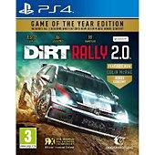 Jeu PS4 Koch Media Dirt Rally 2.0 Edition GOTY