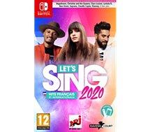 Jeu Switch Koch Media  Let's Sing 2020 Hits français et inter.