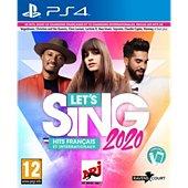 Jeu PS4 Koch Media Let's Sing 2020 Hits français et inter.