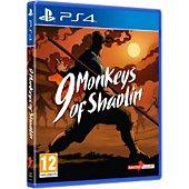 Jeu PS4 Koch Media 9 MONKEYS OF SHAOLIN