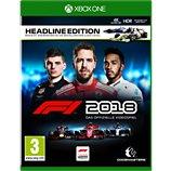 Jeu Xbox One Koch Media F1 2018 Headline Edition