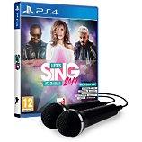 Jeu PS4 Koch Media  Let's Sing 2019 Hits + 2 Micros