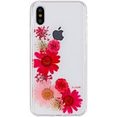 Coque Flavr iPhone X/Xs Sofia fleur rouge