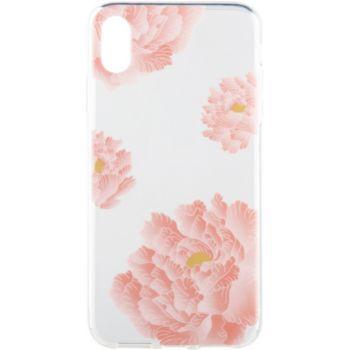Flavr iPhone Xs Max Peonies fleur rose