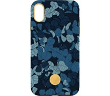 Coque Flavr iPhone Xs Max Studio Navy Leaves