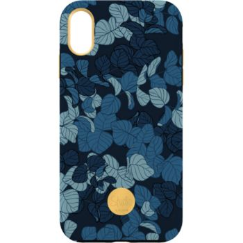 Flavr iPhone Xs Max Studio Navy Leaves