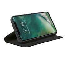 Etui Xqisit  iPhone 12 mini Eco noir