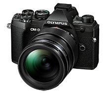 Appareil photo Hybride Olympus  E-M5 Mark III Noir + 12-40mm EZ Noir