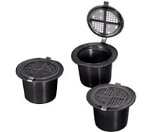 Capsule réutilisable Xavax  Permanentes Nespresso X3