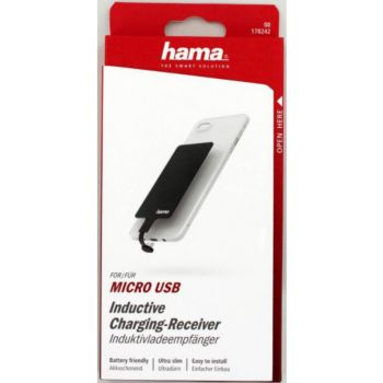 Hama induction micro USB Noir