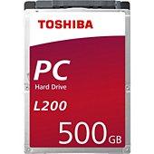 Disque dur interne Toshiba 2.5'' 500Go Sata L200