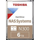 Disque dur interne Toshiba 3.5'' 6To N300