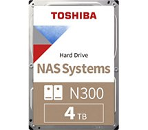 Disque dur interne Toshiba  3.5'' 4To N300