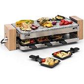 Raclette Klarstein Prime-Rib Appareil à Raclette Pour 8 Gri