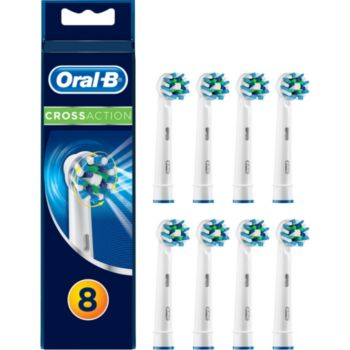 brossette dentaire oral-b cross action x 8