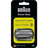 Grille de rasage et couteau Braun Cassette 32B series 3 noir