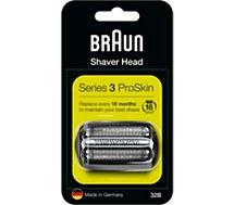 Tête de rasoir Braun  Cassette 32B series 3 noir