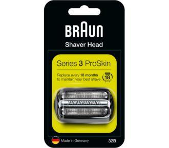 Braun Cassette 32B series 3 noir