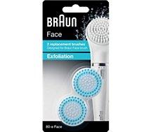 Brossette de rechange Braun Acc brosse exfoliante