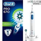 Brosse à dents électrique Oral-B Pro 670 CrossAction