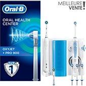 Combiné dentaire Oral-B Oxyjet + Pro 900