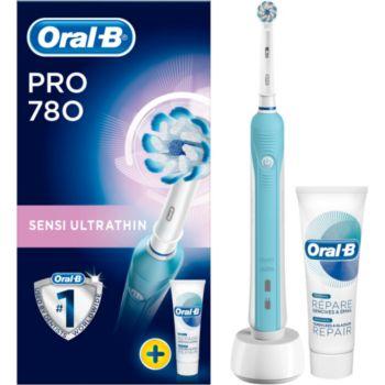 Oral-B Pro 780 Sensi Ultra Thin + dentifrice