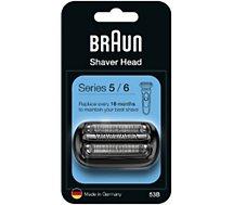 Cassette pour rasoir Braun  53B pour Série 5 - Série 6
