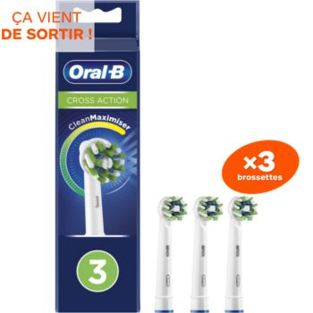 Oral-B Cross Action x3 Clean Max
