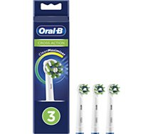 Brossette dentaire Oral-B  Cross Action x3 Clean Max