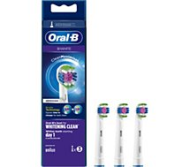 Brossette dentaire Oral-B  3D White x3 Clean Max