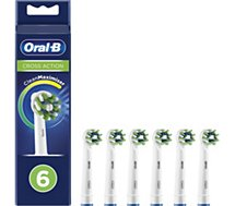 Brossette dentaire Oral-B  Cross Action x6 Clean max
